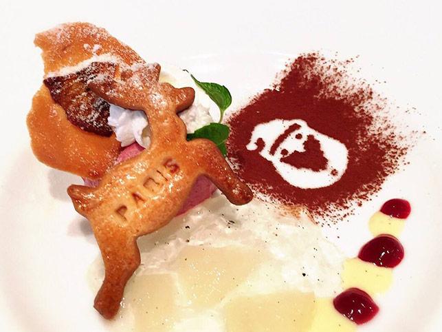 クリスマス仕様のデザートをご用意