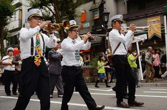 10月8日(土)と9日(日)は神戸ジャズストリート。北野の街が音楽に包まれます。
