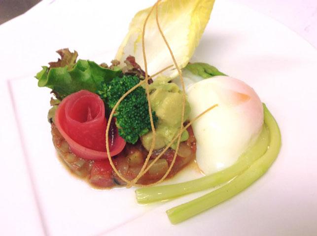 季節の野菜を使ったベジタブルフルコースのご紹介