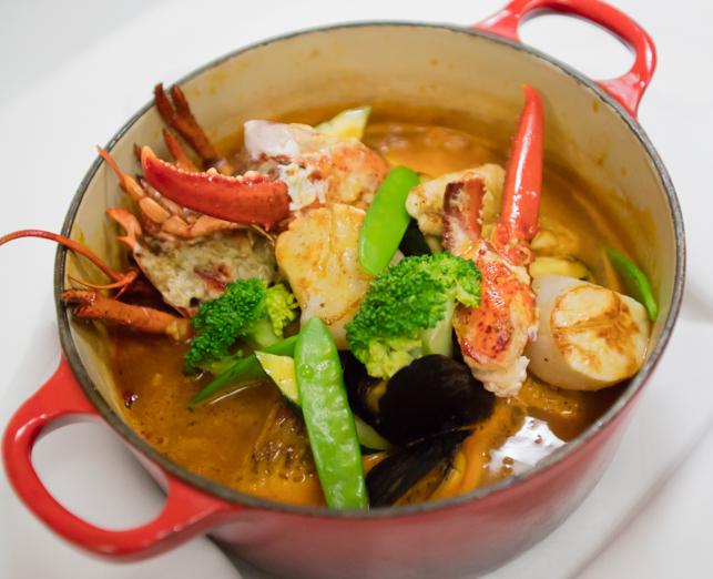 世界三大スープ、南フランスの名物 ブイヤベースのディナーをお愉しみ頂きました。