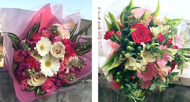 美しいお花が、スタッフの一員となり、皆様のお食事をより輝かせるお手伝いをさせて頂きます。